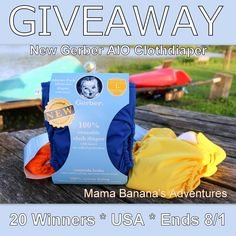 Gerber Cloth Diaper Giveaway - 20 Winners! - The Inquisitive Mom