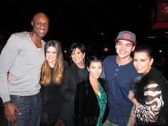 The Kardashians and Odoms.