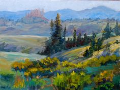 Pastel Landscapes | ... Colorado landscape Paintings by Tracy Haines in Oil and Pastel