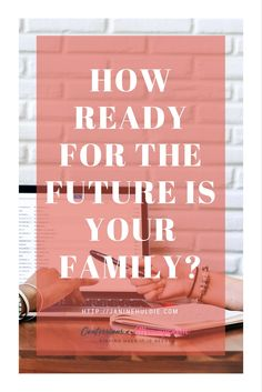 Helping to plan ahead for your family's future. Get some much needed help and advice here. Plus a free printable, as well. #ad #printable