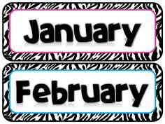 Zebra Months | Scribd