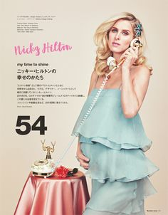 My Time To Shine: Nicky Hilton by Elena Rendina for Numéro Tokyo Special Summer July 2016