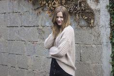 Outfit Strick und Overknee Strümpfe 2 - coeurdelisa