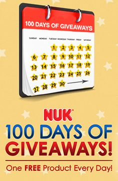 100 Days of NUK Giveaways
