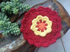 Flor em crochê / Flower Crochet