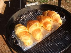 Croissant backed in our Webber - (After) www. ◘ ◘ ◘ ◘ ◘ ◘ Ons Travel Club About South African Recipes, Weekend Breaks, Croissant, Day Trips, Touring, Club, Travel, Food, Viajes