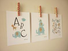 Set+of+3+Blue+themed+mini+prints