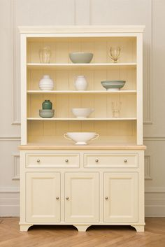 White Kitchen Dresser free standing painted kitchen dressers & kitchen larders | for the