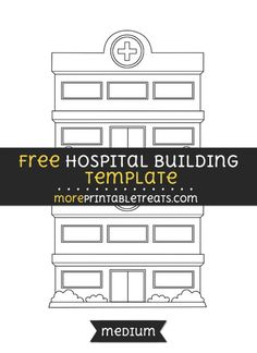 Free Hospital Building Template - Medium