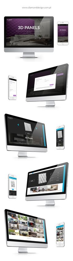 Diamond Design | Website on Behance