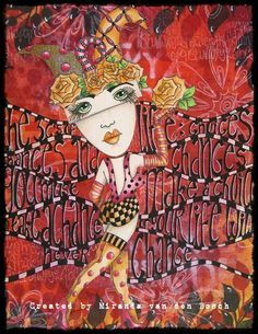 dyan reaveley art journal pages - Google Search