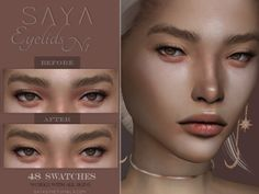48 colour options Found in TSR Category 'Sims 4 Skintones' Sims 4 Cc Eyes, Sims 4 Cc Skin, Sims Cc, Sims 4 Body Mods, Sims Mods, Sims 4 Stories, Sims 4 Gameplay, Sims 4 Cc Makeup, Sims 4 Build