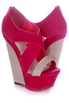 ♥ these wedges!