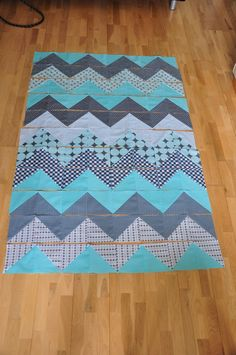 sew all your squares together