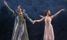 Viktoria Tereshkina as Titania and Timur Askerov as Oberon in Balanchine's A Midsummer Night's Dream at Covent Garden. Photograph: Nigel Norrington Nigel Norrington/Nigel Norrington