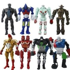 http://www.kidsgametoys.com/  8x Real Steel Atom Midas Noisey Boy Zeus 13cm PVC Action Figure Set $23.09  This Item Ship from Hong Kong 8-15 Business day Description : 8x Real Steel Zeus TWIN CITIES Atom Midas Noisey Boy 13cm PVC Action Figure Set Condition : Brand New
