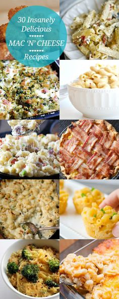 30 Mac 'N' Cheese Recipes