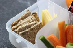 LUNCHBOX IDEAS + Grain-Free Four Seed Crackers - Homegrown Kitchen