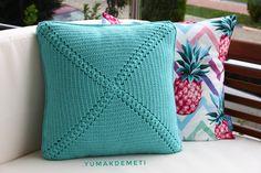 #crochet #yarn #pillow #örgü #kirlent