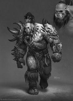 ArtStation - The Art of Warcraft Film - Killrog Deadeye, Wei Wang: