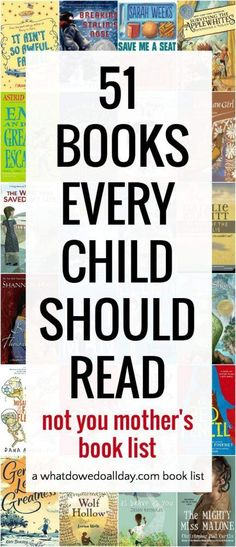 51 Must Read Chapter Books for Kids( Not Your Typical Book List)