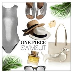 """Yep, They're In! The One-Piece"" by danielle-487 ❤ liked on Polyvore featuring Prism, Charlotte Olympia, Illesteva, Abercrombie & Fitch, Garance Doré, Burberry and onepieceswimsuit"