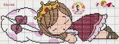 Fofura Cross Stitch For Kids, Cute Cross Stitch, Cross Stitch Charts, Cross Stitch Patterns, Cross Stitching, Cross Stitch Embroidery, Beading Patterns, Hama Beads Patterns, Stitch Doll