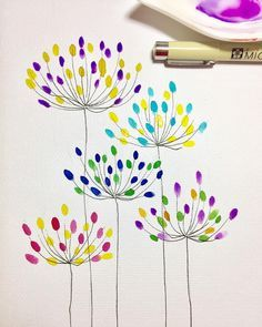 Doodle art 465348573997094006 - Did not find time to paint today so these quick doodles for the entry. These remind me of agapanthus flowers.… Source by superdominette Watercolor Cards, Watercolor Flowers, Watercolor Paintings, Painting Flowers, Drawing Flowers, Easy Watercolor, Art Floral, Doodle Art, Flower Doodles