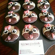 Cupcake decorado cachorrinho