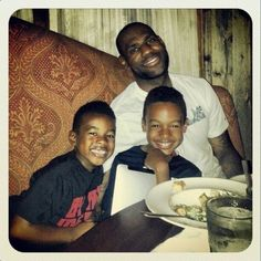 LeBron & sons