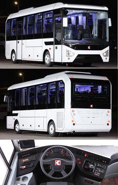 Karsan Star 8 m Tourism Bus  / Design: K.Kunter Aytekin