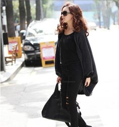 Stylish Style Cardigans Dolman Sleeves Design Sweater For Women (RED,ONE SIZE) | Sammydress.com