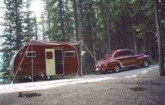 1947 Mercury 114 Coupe  and 1968 15' Gaucho