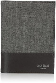 Jack Spade Mens Tech Oxford Passport Wallet * You can find more details by visiting the image link. Note: It's an affiliate link to Amazon #MenLuxuryWallet