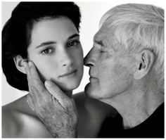 Photo credit: Winona Ryder and her godfather Timothy Leary from Interview, November Photo: © Herb Ritts Foundation. Winona Ryder 90s, Timothy Leary, Winona Forever, Herb Ritts, Club Kids, Celebrity Portraits, The Godfather, Black And White Photography, Role Models