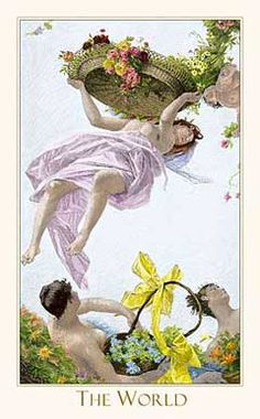 Victorian Romantic Tarot,The World