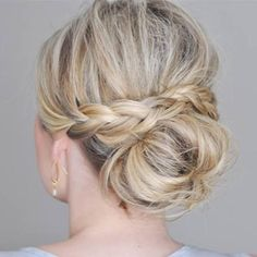 A great braid and bun combo! #purehairfood #hair