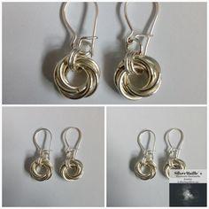 Sterling Silver 925 Mobius Flower Earring #UnisexEarring #MadeInNorway #MobiusChainmaille #VikingJewelry #SilverEarring #HandmadeSilver #MobiusFlower #DingleDropEarring #FriendshipGift #GiftForHer Chainmaille, Flower Earrings, Jewelry Making, Personalized Items, Sterling Silver, Unique Jewelry, Handmade Gifts, Shop, Etsy