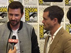 Richard Armitage attends San Diego Comic-Con (SDCC 2015) Hard Rock Hotel on July 11, 2015 to promote Hannibal/Dolarhyde/RedDragon