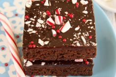 Holiday Baking Tips - Peppermint Tea Brownies - Geez Louise!