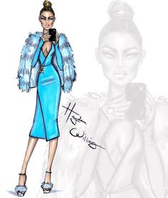 The Selfie Series by Hayden Williams: 'Into the Blue'