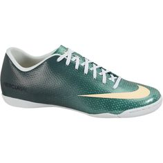 Nike Mercurial Victory IV Indoor-Competition Women's Soccer Cleats -... ($70) found on Polyvore