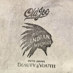 tumblr, Old Joe, Indian, Headdress, Beauty & Youth, Print,