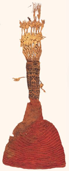 """9th or 10th century Nalbound silk hat from Egypt - from  Bush, Nancy (2001) """"Nålbinding - From the Iron Age to Today"""" in Piecework Vol. IX N. 3, May/June 2001; Interweave Press, 2001, p. 28"""