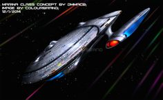 Commissioned: USS Elina by Colourbrand on deviantART