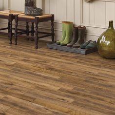 Country Oak Mannington Flooring, Vinyl Wood Flooring, Luxury Vinyl Tile Flooring, Luxury Vinyl Plank, Hardwood Floors, Sunken Living Room, Flooring Options, Flooring Ideas, Home Additions