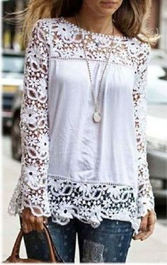 3f8cab9b365147 Women Designer Tops Online | Shop Trendy Women Tops - Voxn Clothing. White  LaceWhite ...