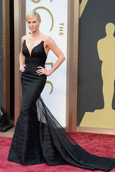 Oscars red carpet: Charlize Theron