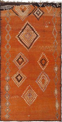 (via Vintage Moroccan Rug | VandM.com)