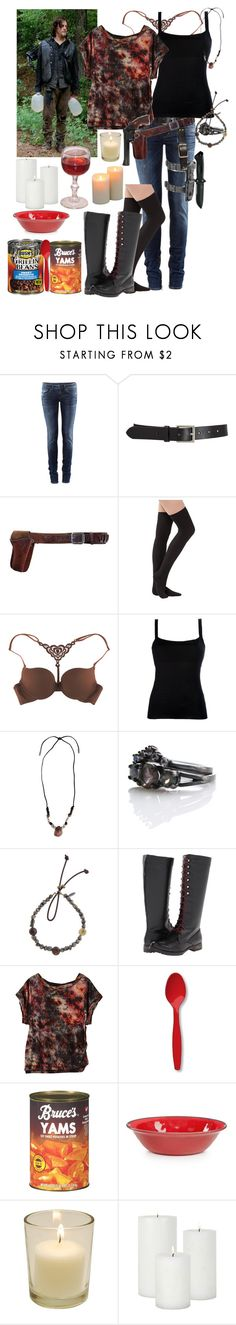 """""""The Walking Dead A Night in the Church Season 4"""" by werewolf-gurl ❤ liked on Polyvore featuring H&M, Barneys New York, INC International Concepts, The Little Bra Company, Valentino, Yves Saint Laurent, Catherine Michiels, Volatile, Creative Converting and Home Design Studio"""